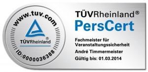 TÜV Rheinland Personenzertifikat