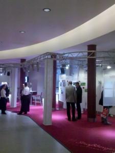Messestand der Straßberger Immobilien GmbH