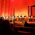 Kirchen Aufführung