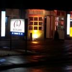 Videogobo zur Restauranteröffnung