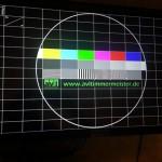 Testbild auf 32 Zoll Touch