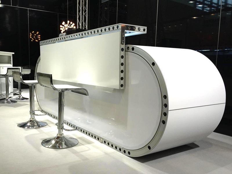 runde messetheke style 1 neu in der vermietung avltimmermeister event messe pr sentation. Black Bedroom Furniture Sets. Home Design Ideas
