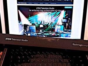 #Blackmagic #TelevisionStudio #ATEM