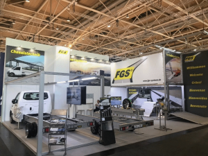 Messestand FGS Systems IAA 2018.