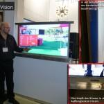 Außen TV Bildschirme / Outdoor LED Screens erstmalig auf der BOE vorgestellt