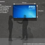 Neue 4K UHD Displays in der Vermietung (BDL8470 mieten)
